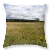 Natural Forestry Gees The Netherlands Throw Pillow