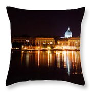 Naval Academy In Annapolis 2 Throw Pillow