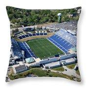 Navy Marine Corps Memorial Stadium Throw Pillow