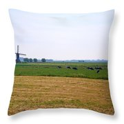 Nederlands Throw Pillow
