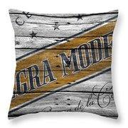 Negra Modelo Throw Pillow