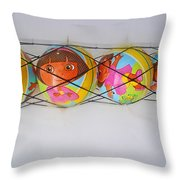 Net Balls Throw Pillow