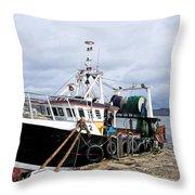 New Seeker - Lyme Regis Throw Pillow