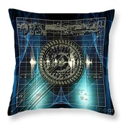 New Time Calculation Throw Pillow