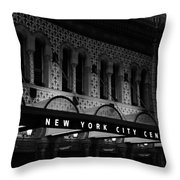 New York City Center Throw Pillow
