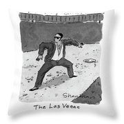 New Yorker April 5th, 1993 Throw Pillow