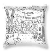 New Yorker May 31st, 1999 Throw Pillow