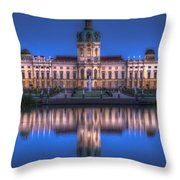 Night Palace  Throw Pillow