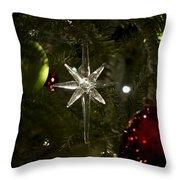 Night View Christmas Tree   1 Of 4 Throw Pillow