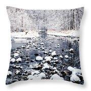 Nine Mile Creek Throw Pillow