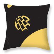 No365 My 2010 Minimal Movie Poster Throw Pillow