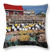North Rustico Throw Pillow