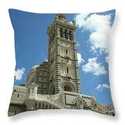 Notre Dame De La Garde Throw Pillow