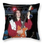 Nrbq Throw Pillow
