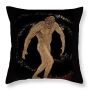 Nude Act Throw Pillow