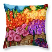 Number Xii Throw Pillow