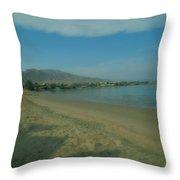 Nuweiba Beach Sinai Egypt Throw Pillow