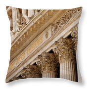 Ny Stock Exchange Throw Pillow