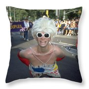 Nyc Gay Pride 2006 Throw Pillow