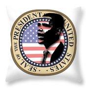 Obama-1 Throw Pillow