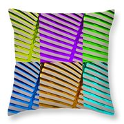 Observe Full Color Throw Pillow