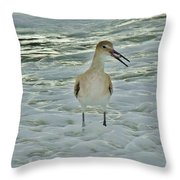 Ocean Bird Throw Pillow