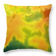 October Throw Pillow
