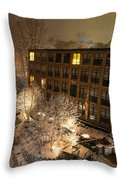 Oella Mill Throw Pillow
