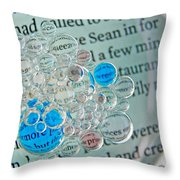 Oil And Water 24 Throw Pillow