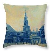 Old Poznan Throw Pillow