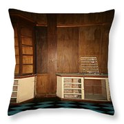 Old Room Throw Pillow