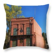 Oldest Masonic Lodge In California Throw Pillow