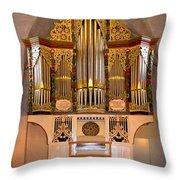 Oldest Organ Throw Pillow