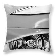 Oldsmobile 98 Wheel Emblem Throw Pillow