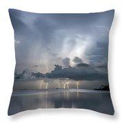 Ominous Ozona Throw Pillow