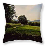 From Cleveland Hill Rd. At Dusk Throw Pillow