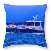 On Course Throw Pillow