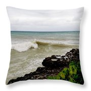 On Shore Throw Pillow