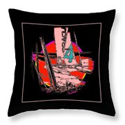 On The Bay 2 Throw Pillow