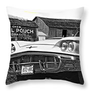 Once Upon A Crazy Time... Throw Pillow