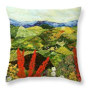 One More Step Throw Pillow