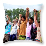 Opening Ceremony Rw2k14 Throw Pillow