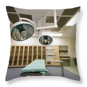 Operating Room Throw Pillow