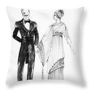 Operetta Costumes Throw Pillow