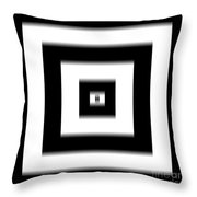 Optical Artistic Visions 2 Throw Pillow