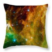 Orion-nebula Throw Pillow