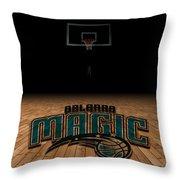 Orlando Magic Throw Pillow