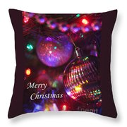 Ornaments-2160-merrychristmas Throw Pillow