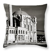 Ortakoy Throw Pillow