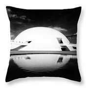 Oscar Niemeyer Architecture- Brazil Throw Pillow